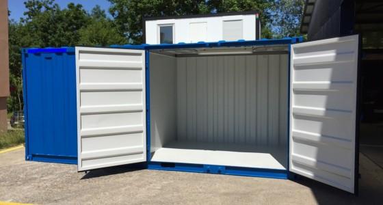 Container Bureau-stockage